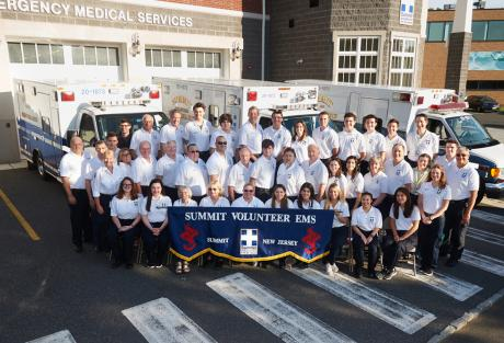 2018 Summit Volunteer First Aid Squad (photo by Bill Marvin)